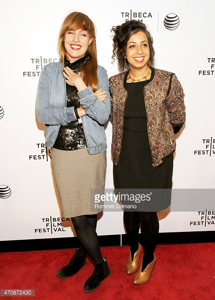 may and amy on the red carpet
