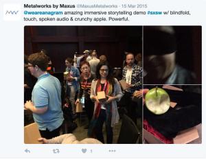 audience tweet