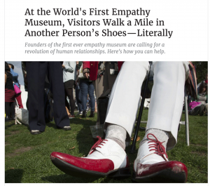 Empathy shoes