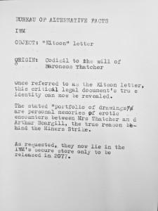 B.A.F kitson letter