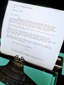 typewriter BAF